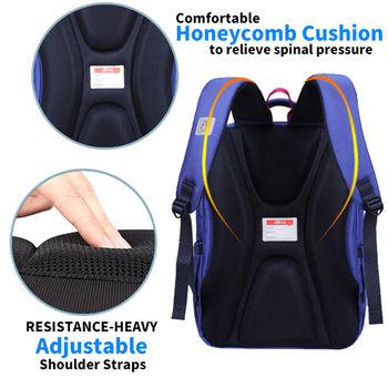 купить Школьный ортопедический рюкзак для девочек Aoking B7108 со светоотражающими полосками в Кишинёве