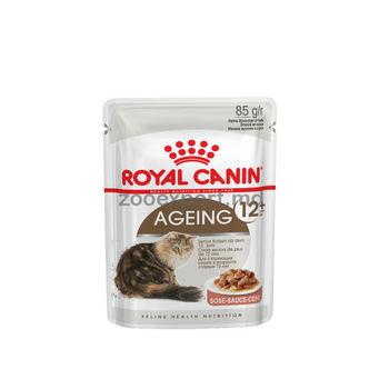 cumpără Royal Canin AGEING +12 (În sos)  85 gr în Chișinău