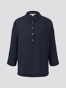 Блуза TOM TAILOR Темно синий 1016851 tom tailor