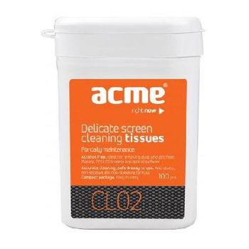 ACME Screen Cleaning Wipes LCD/TFT/CRT 10Wet/10Dry pcs.
