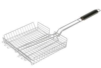 Решетка для гриля BBQ 25X31.5X5cm объемная