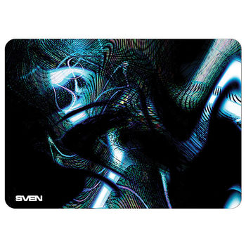 SVEN GS-M, Gaming Mouse pad, Dimensions: 335 х 240 х 3mm, Material: pique fabric + synthetic rubber, Overstitch on the edge, Non-slip rubber base