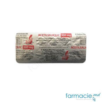 купить Acetilsalicilic comp. 500 mg  N10 (Balkan) в Кишинёве