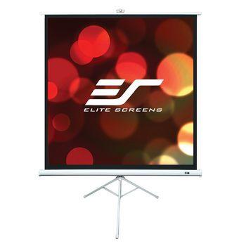 "Elite Screens 120""(4:3) 182,9x243,8cm Tripod Series Pull Up, White"