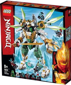 "LEGO Ninjago ""Titan Lloyd's mecanic"", art. 70676"