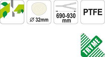 Ножницы садовые Yato YT-8841