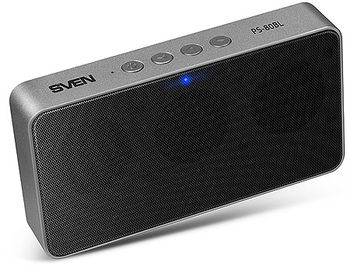 SVEN PS-80BL Portable Bluetooth speaker, 6W (2 x 3W), 150Hz–20kHz, Microphone, FM-tuner, microSD, Li-Ion 2000 mAh, USB (boxe portabile sistem acustic/колонки портативные акустическая сиситема)