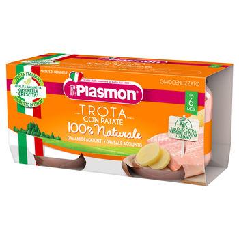 cumpără Plasmon Piure omogenizat de pastrav cu legume +6 luni 2x80g în Chișinău