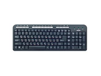 Keyboard SVEN Standard 309M black, USB (tastatura/клавиатура)