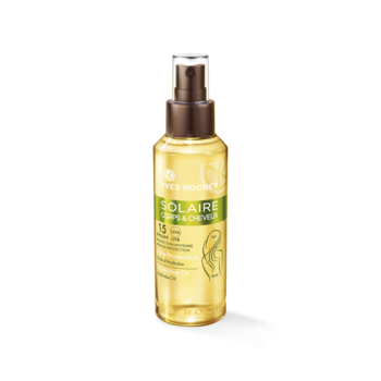 Солнцезащитное Масло для Тела и Волос SPF 15