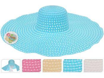 Шляпа женская летняя D54cm