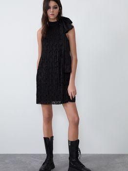 Платье ZARA Чёрный 2712/902/800