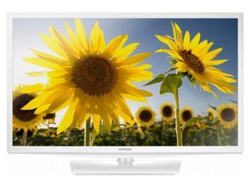 """24"""" LED TV Samsung UE24H4080AUXUA , White"""