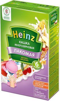 купить Heinz Лакомая каша многозерновая молочная яблоко, вишенка, 6 мес. 200г в Кишинёве