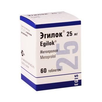 cumpără Egilok 25mg comp. N60 în Chișinău
