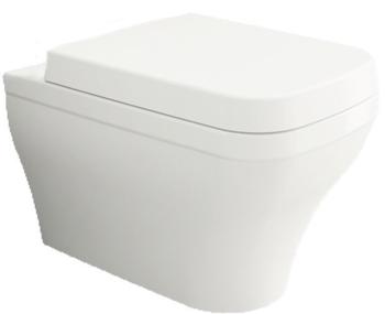 Унитаз подвесной Firenze WC Белый с крышкой soft close