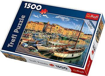 "Пазлы ""1500"" - ""Old Port in Saint Tropez"", код 40544"