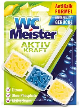 Блок туалетный WC Meister аромат Лимон