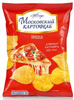 """Чипсы """"Московский Картофель"""" Пицца 150г"""
