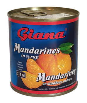 Мандарины в сиропе Giana