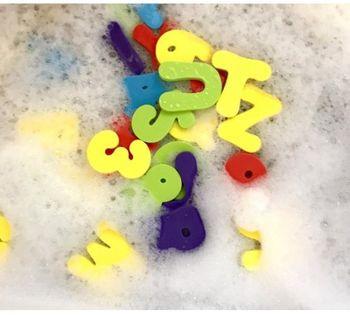 купить Набор для купания Nuby Alphabet (36 шт) в Кишинёве