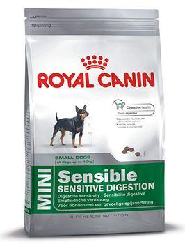 купить Royal Canin Mini Sensible (для собак мелких пород с чувствительной пищеварительной системой ) в Кишинёве
