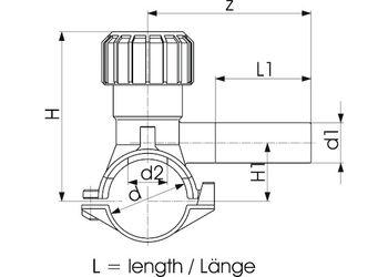 купить Седловой тройник e/f ф. 40 x 32 Mono-bloc Autoperforant PE100 SDR11  +GF+ в Кишинёве