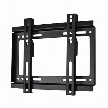 "TV-Wall Mount for 17-37""- Gembird ""WM-37F-01"", Fixed, max. 25 kg, Distance TV to Wall: 24 mm, max. VESA 200 x 200, Black"