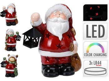 """Сувенир LED """"Дед мороз/ олень/ снеговик"""" с фонарем 17сm"""