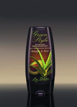 купить Бальзам-кондиционер «Авокадо&Алое» для нормальных волос Green style в Кишинёве