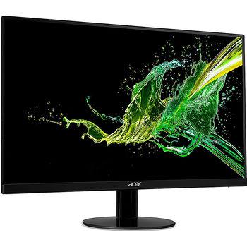 """Монитор 23.8"""" TFT IPS LED ACER HA240YA Glossy Black, WIDE 16:9, 75Hz, 4ms, 100,000,000:1, Free-Sync, H:30-83kHz, V:56-75Hz,1920x1080 Full HD, HDMI/D-Sub (monitor/Монитор)"""