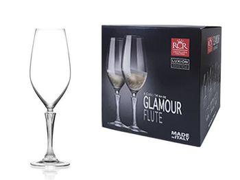 Набор бокалов для шампанского Glamour 6шт, 440ml