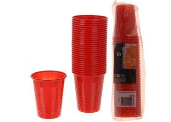 Набор стаканов одноразовых EH 50шт, 200ml, разные цвета