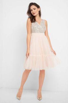 Платье ORSAY Светло бежевый 467339 orsay