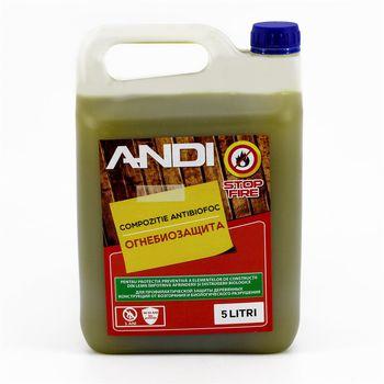 Supraten Огнебиозащитный состав Andi 5кг