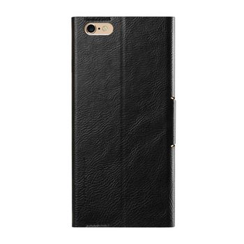 купить WUW Leather case iphone 6+/6s+/7+/8+, Black в Кишинёве