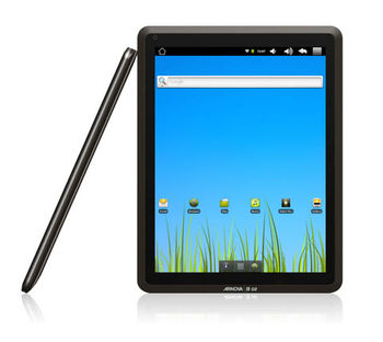 """ARNOVA 9 G2 internet tablet 8GB, 9.7"""" Capacitive 5x Multi-Touch IPS LCD (1024x768), Cortex A8 1GHz, 8Gb flash drive, front camera, MicroSDHC, G-sensor, WiFi, USB2.0, Android OS 2.3 (Gingerbread), 630g"""