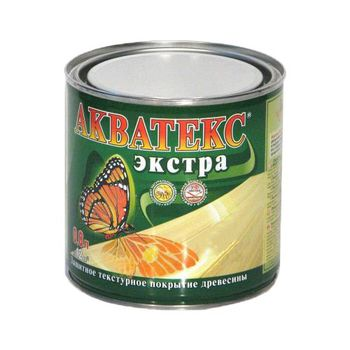 Акватекс Лак Акватекс Экстра Каштан 0.8л