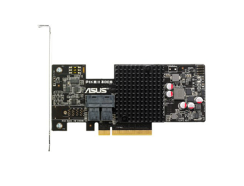 3008-8I ASUS PIKE II 3008-8I, chipset LSI SAS 3008, PCI-E Gen 3, RAID 0/RAID 1/RAID 10/RAID 1E, 8 ports, SATA 6Gb/s, SAS 12Gb/s (card de extensie pentru sisteme server/плата расширения для серверной платформы)