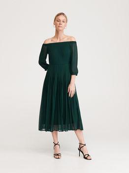 Платье RESERVED Зеленый xp216-67x