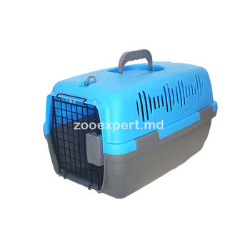 Cusca de transport  pentru pisici și câini, din plastic