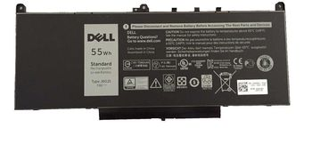 Battery Dell Latitude E7270 E7470 J60J5 242WD MC34Y GG4FM R1V85 PDNM2 7.6V 7000mAh Black Original