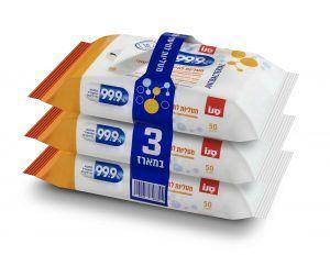купить 99,9% Влажные салфетки для стерилизации и базовой очистки 848345 в Кишинёве