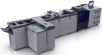 Konica Minolta AccurioPress C4080 - цветная печатная машина