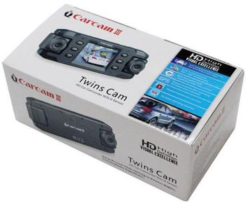 Видеорегистратор Carcam 3X8000 GPS Full HD Elite