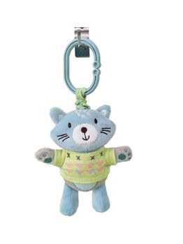 Kikka Boo Cat vibrating toy with bell