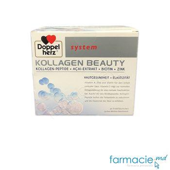 купить System kollagen Beauty N30 flacoane Doppelherz в Кишинёве