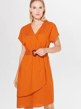 Платье MOHITO Оранжевый xf556-23x