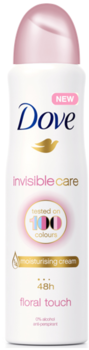 купить Антиперспирант Dove Invisible Care Floral Touch, 150 мл в Кишинёве