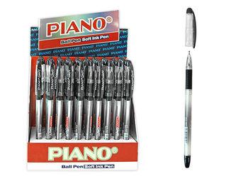 Ручка шариковая PT-197 soft ink,0.7mm, черная